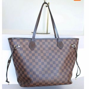 Authentic Louis Vuitton Neverfull mm Damier